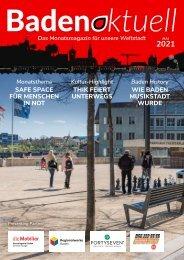 Baden aktuell Magazin Mai 2021
