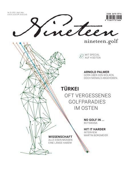 Nineteen.Golf Magazin 01-2021
