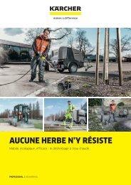 AUCUNE HERBE N'Y RÉSISTE