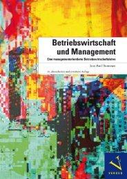 Leseprobe: Thommen: Betriebswirtschaft und Management