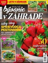 Časopis Pekne bývanie V záhrade 02 2021