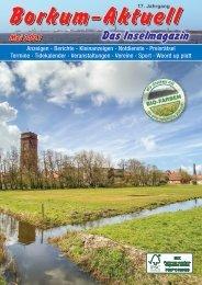 Mai 2021 Borkum-Aktuell - Das Inselmagazin