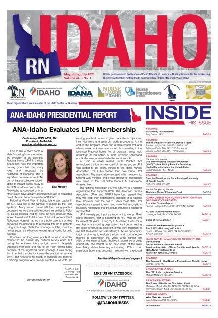 RN Idaho - May 2021