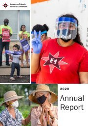 AFSC Annual Report 2020