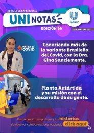 Revista Uninotas Edición 66