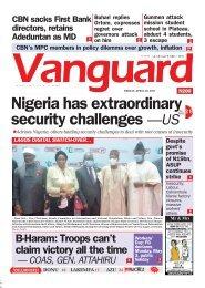 30042021 - Nigeria has extraordinary security challenges —US