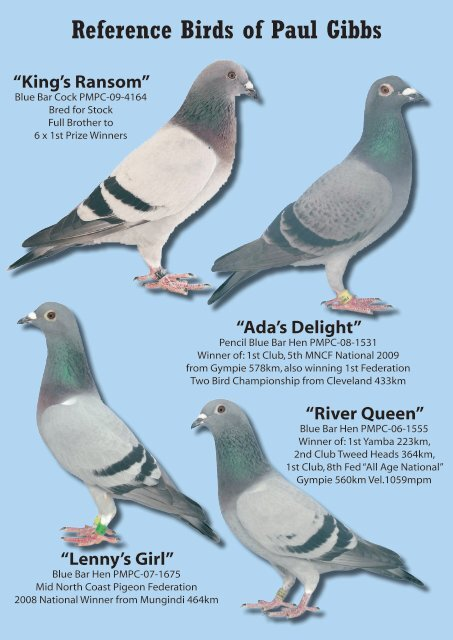 Reference Birds of Paul G
