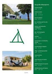Camping Zubehör Katalog - Zelte