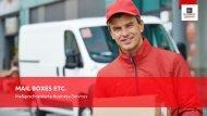 Unternehmenspräsentation | Mail Boxes Etc. in Hannover und Celle