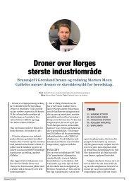 Droner over Norges største industriområde