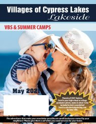 VCL Lakeside May 2021