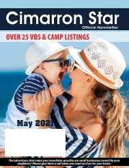 Cimarron May 2021