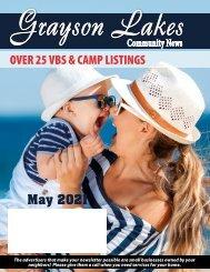 Grayson Lakes May 2021