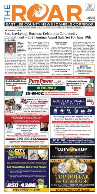 East Lee County News May 2021