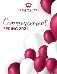 Commencement Program Spring 2021