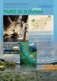 2004 parks in slovenia
