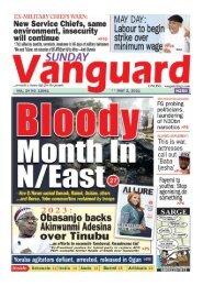 02052021 - Bloody Month in N/East