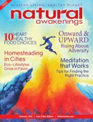 Natural Awakenings Twin Cities February 2018