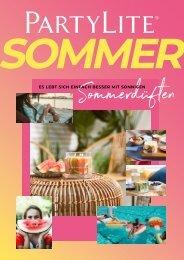 PartyLite Sommer-Katalog 2021