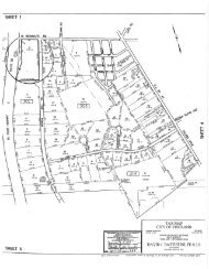 Tax Map, Zone Map - Stanker & Galetto