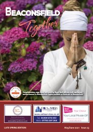 Beaconsfield Together - May / June 2021 Issue