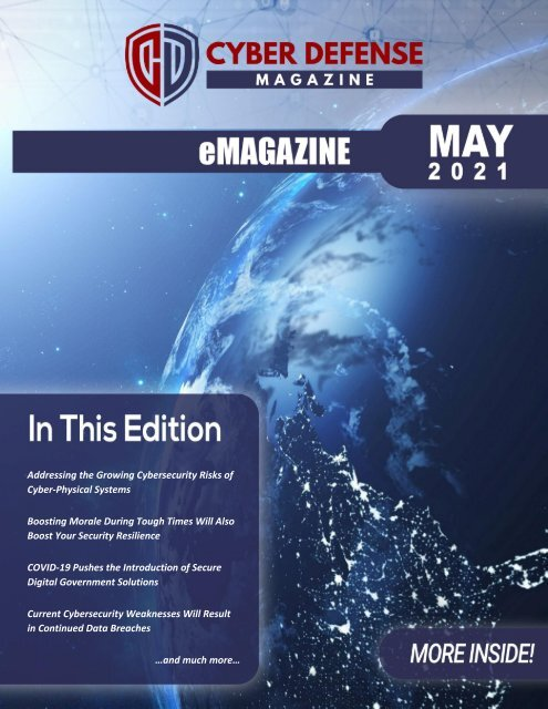Cyber Defense eMagazine May 2021 Edition