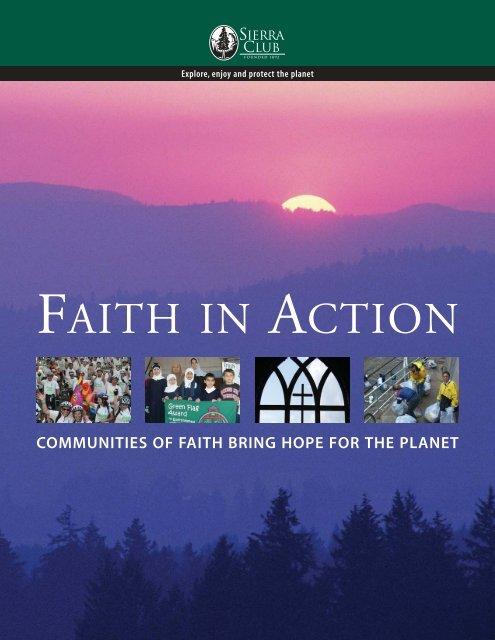 FAITH IN ACTION - Sierra Club