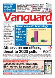 03052021 - Attacks on our offices, threat to 2023 polls — INEC