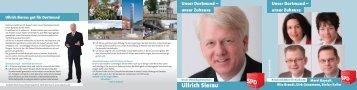 Ullrich Sierau - SPD Dortmund