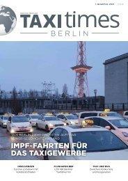 Taxi Times Berlin - 1. Quartal 2021