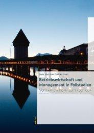Leseprobe: Peter/Frischherz: Betriebswirtschaft und Management in Fallstudien