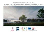 Presentation Conference Presse Halles des Foires