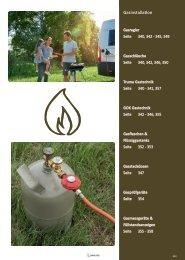 Camping Zubehör Katalog  - Gas bei Wohnwagen Bruns