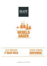 Werelddagen Slot Menswear