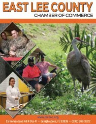 East Lee County Chamber of Commerce May 2021