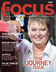 2016 Issue 5 Sep/Oct - Focus Mid-South magazine