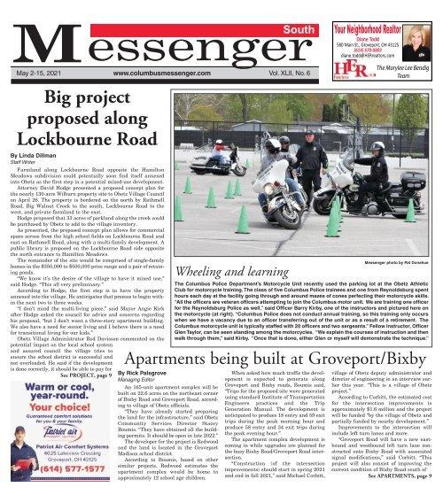 South Messenger - May 2nd, 2021