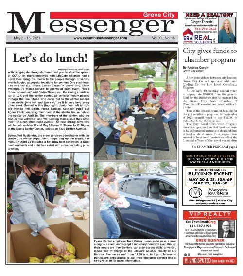 Grove City Messenger - May 2nd, 2021