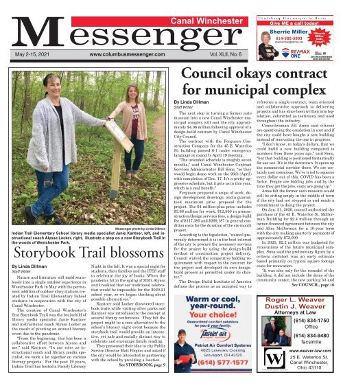 Canal Winchester Messenger - May 2nd, 2021