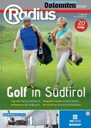 Golf in Südtirol 2021