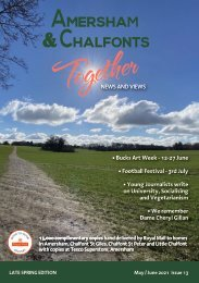Amersham and Chalfonts Together May / June 2021 Issue