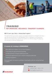 SCHEUERLE training