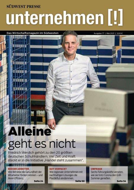 2021/05  Unternehmen #77   Ausgabe Mai 2021   NIE LÖSCHEN! Verknüpft mit Archiv