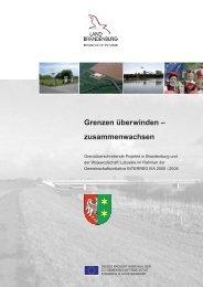 Grenzen überwinden - Ministerium für Wirtschaft und ...