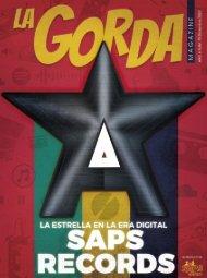 La Gorda Magazine Año 6 Edición Número 70 Diciembre 2020 Portada: SAPS Records