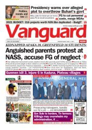 05052021 - Anguished parents protest at NASS, accuse FG of neglect