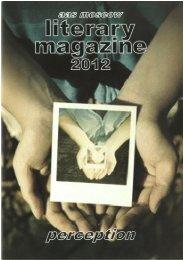 AAS Literary Magazine 2011-2012