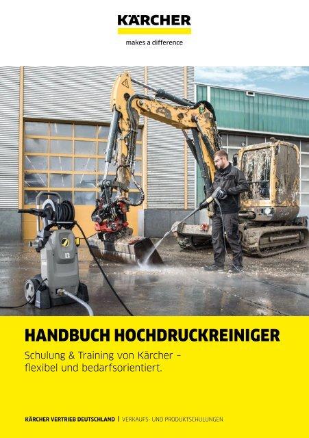 HANDBUCH HOCHDRUCKREINIGER.