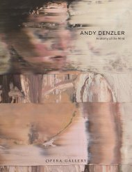 Andy Denzler, Anatomy of the Mind