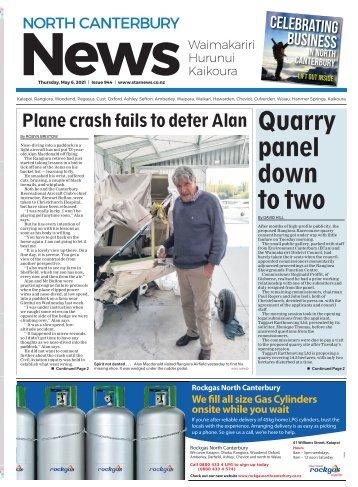 North Canterbury News: May 06, 2021